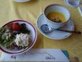 九州ホテルの昼食