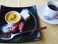 九州ホテルの昼食(デザート)