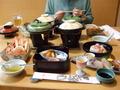 長楽園の夕食