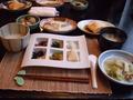 湯原温泉八景の朝食