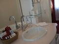 神戸北野ホテルの洗面設備