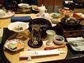 堂ヶ島ホテル天遊からの夕食