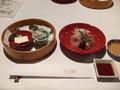 亀の井別荘の夕食