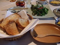 亀の井別荘の朝食