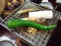 奥山田温泉セルバン白雲館の夕食