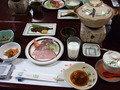 奥山田温泉セルバン白雲館の朝食
