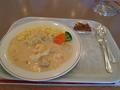 新富良野プリンスホテルの昼食