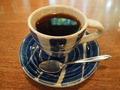 新富良野プリンスホテル「森の時計」喫茶のコーヒー