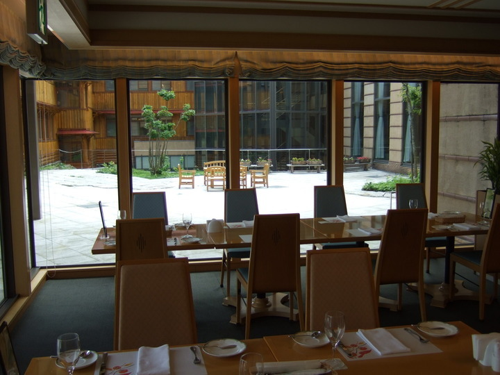十和田ホテルのレストラン