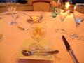 りんどう湖ロイヤルホテルの夕食(デザート)
