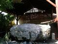 白壁荘の巨石風呂