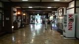 酸ヶ湯温泉旅館の玄関