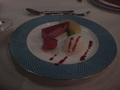 リゾートホテルラ・メールの夕食(デザート)