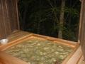 蓼科温泉ホテル親湯の露天風呂