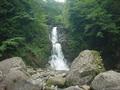 姥湯温泉桝形屋の近くにある白布大滝
