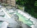 蔵王国際ホテルの露天岩風呂