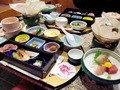 勝浦ホテル三日月の夕食