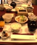 強羅天翠の朝食