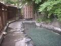 扉温泉明神館の露天風呂