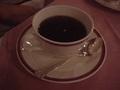 上高地帝国ホテルの夕食(コーヒー)