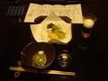 藍染と懐石料理の宿たてしな藍の夕食