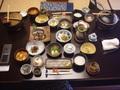 藍染と懐石料理の宿たてしな藍の朝食
