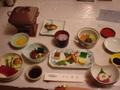 ホテル浦島の夕食