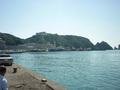 ホテル浦島の外観(対岸から)