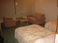 梅樽温泉ホテルシーモアの客室の椅子
