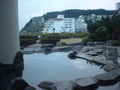 ホテルカターラ福島屋の露天風呂からの眺望