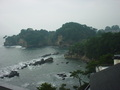 五浦観光ホテル別館大観荘の部屋からの眺望