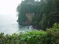 五浦観光ホテル別館大観荘の露天風呂からの眺望