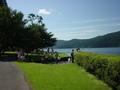 ザ・プリンス箱根の湖畔の前庭