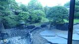 星野リゾートアンジンの中庭