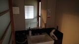 星野リゾートアンジンの洗面台