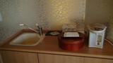 ホテルアンビア松風閣の湯沸しポット