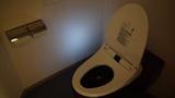 ホテルアンビア松風閣のトイレ