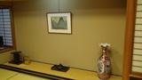 ホテルアンビア松風閣の特別室の床の間