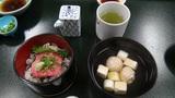 ホテルアンビア松風閣のネギトロ丼