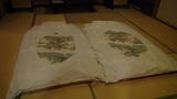 ホテルアンビア松風閣の布団