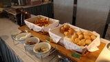 ホテルアンビア松風閣の朝食のパン