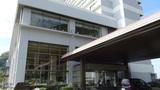 ホテルアンビア松風閣の正面入り口