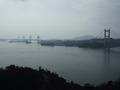 鷲羽山展望台から見た瀬戸大橋