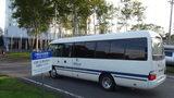 ヒルトンニセコビレッジの送迎バス