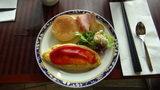 ヒルトンニセコビレッジの朝食(オムレツ)