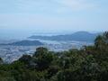 徳島 眉山からの眺め