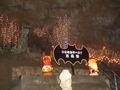 玉泉洞のクリスマスデコレーション