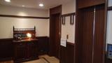 山のホテルのエレベーターホール