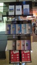 リ・カーヴ箱根のロビーのパンフレット類