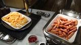 リ・カーヴ箱根の朝食(ポテト・ウインナー)